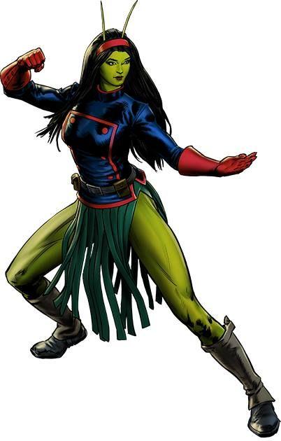 Mantis-Guardians of the Galaxy Spec Ops # 35 Hero Reward