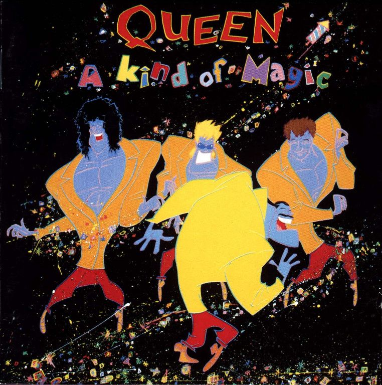A Kind Of Magic Queen Albums Album Cover Art A Kind Of Magic