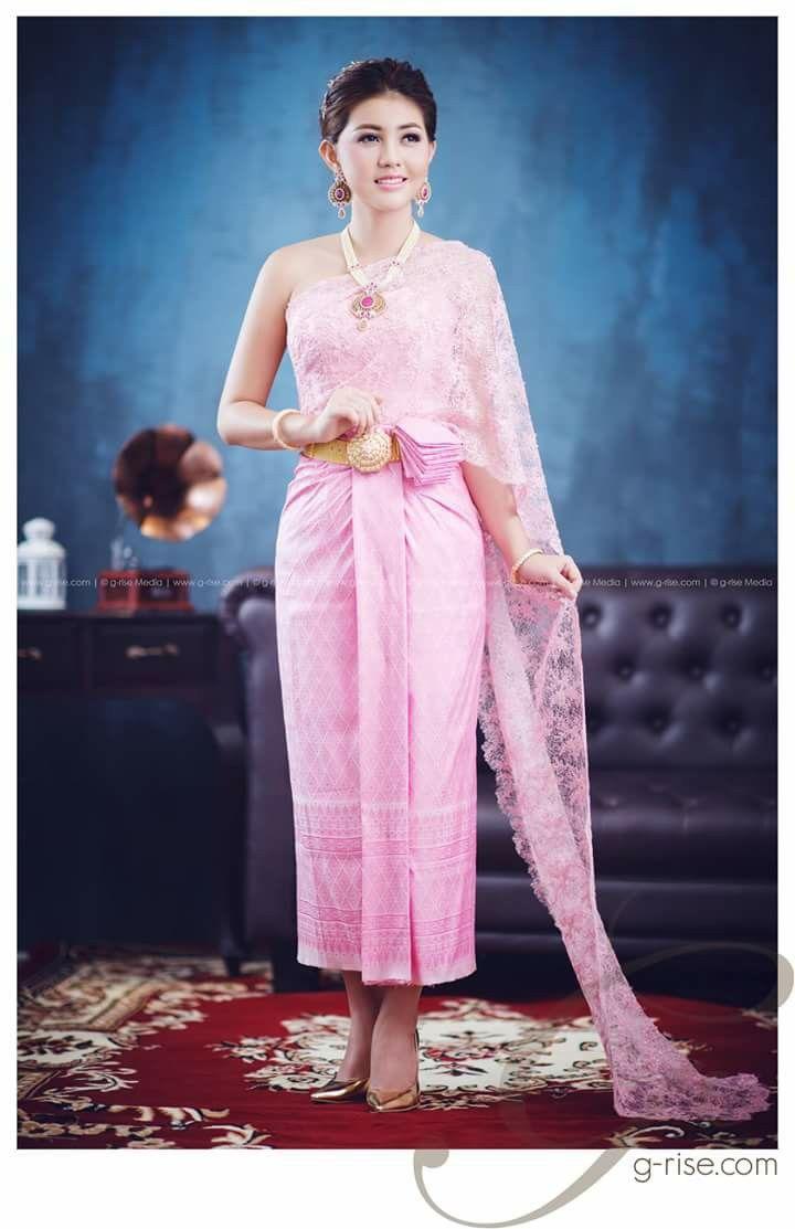 Moderno Trajes De Boda Khmer Regalo - Colección de Vestidos de Boda ...