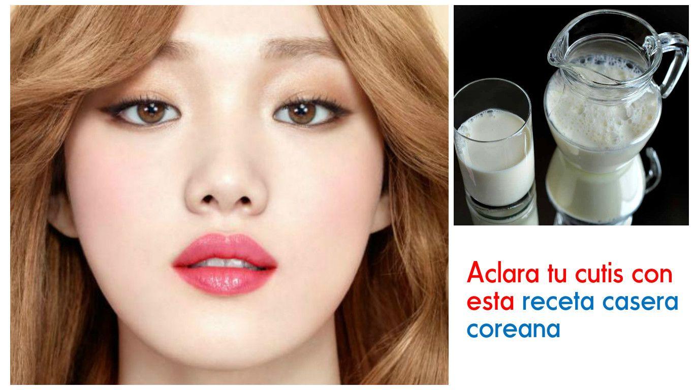 Aprende Cómo Aclarar Tu Cutis Con Esta Receta Coreana Blog De Belleza Recetas Coreanas Cutis