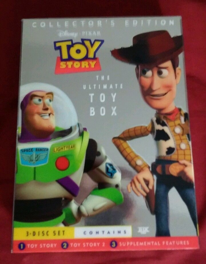 Toy Story The Ultimate Toy Box Collector S Edition Dvd Pixar 3 Disc Set In Dvds Movies Dvds Blu Ray Discs Ebay Toy Boxes Toy Story Pixar