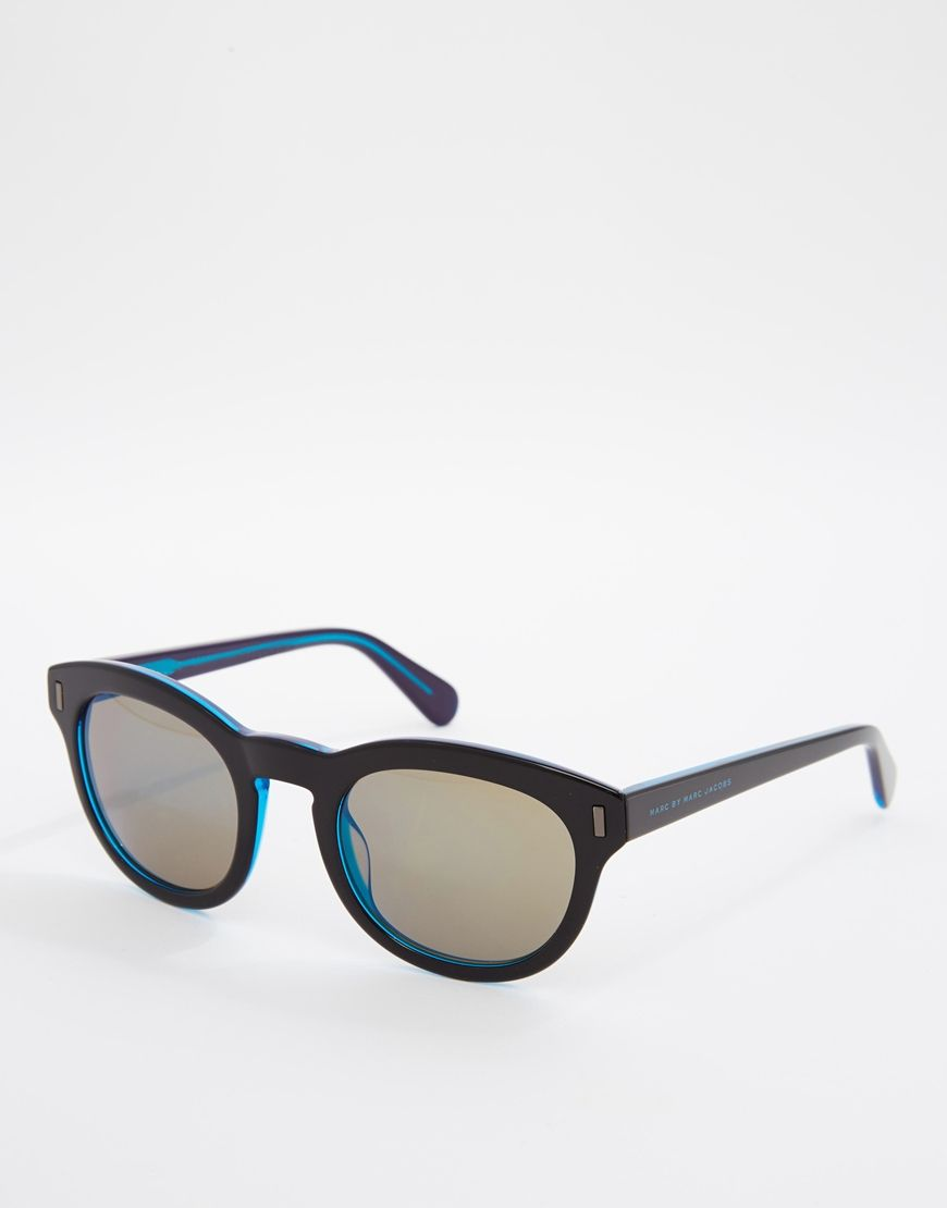 Sunglasses from Marc by Marc Jacobs Coloured, Wayfarer-style frames ...