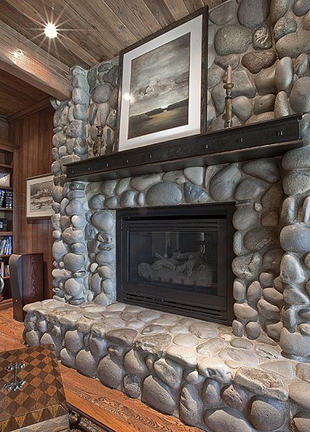 Steel Fireplace Mantel Via 12th Avenue Iron