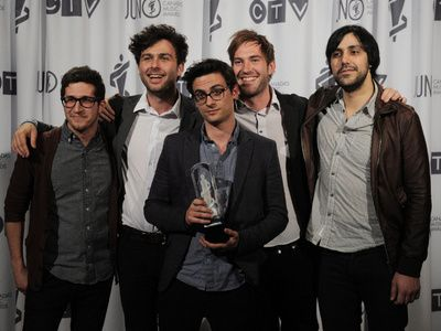 Arkells win Group of the Year at Junos 2012!