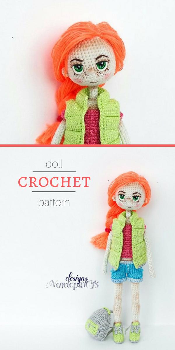 Doll Summer   CROCHET   Pinterest   Croché, Ganchillo y Muñecas
