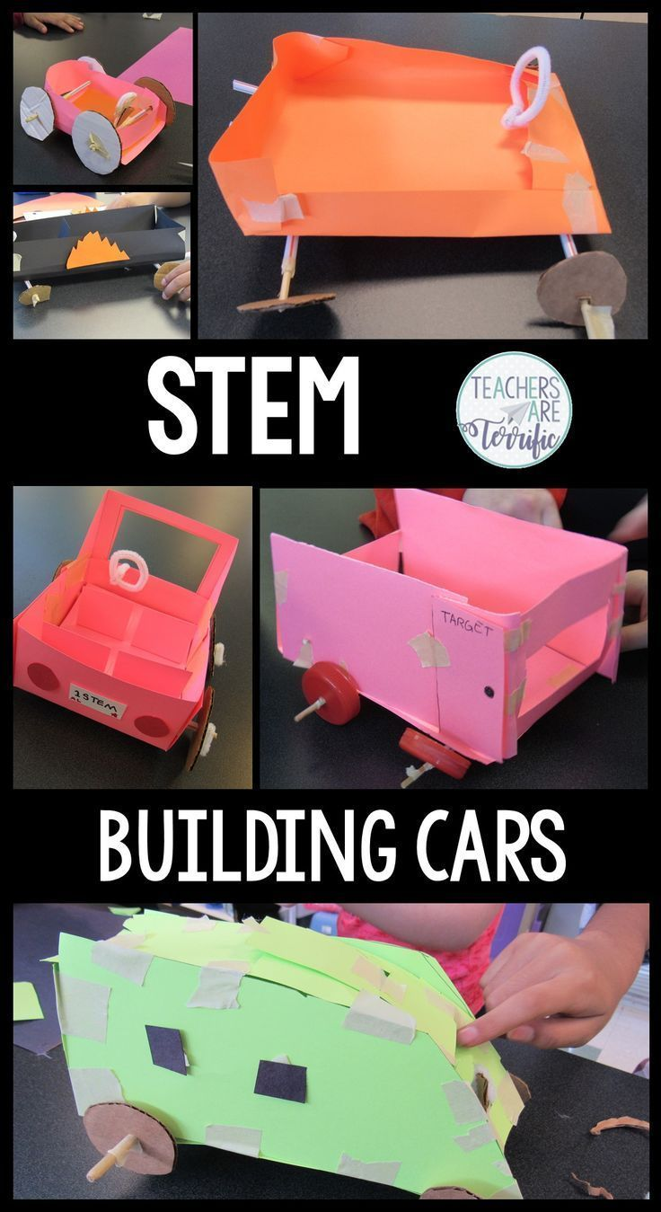 STEM Challenge Build a car. Empty out your and