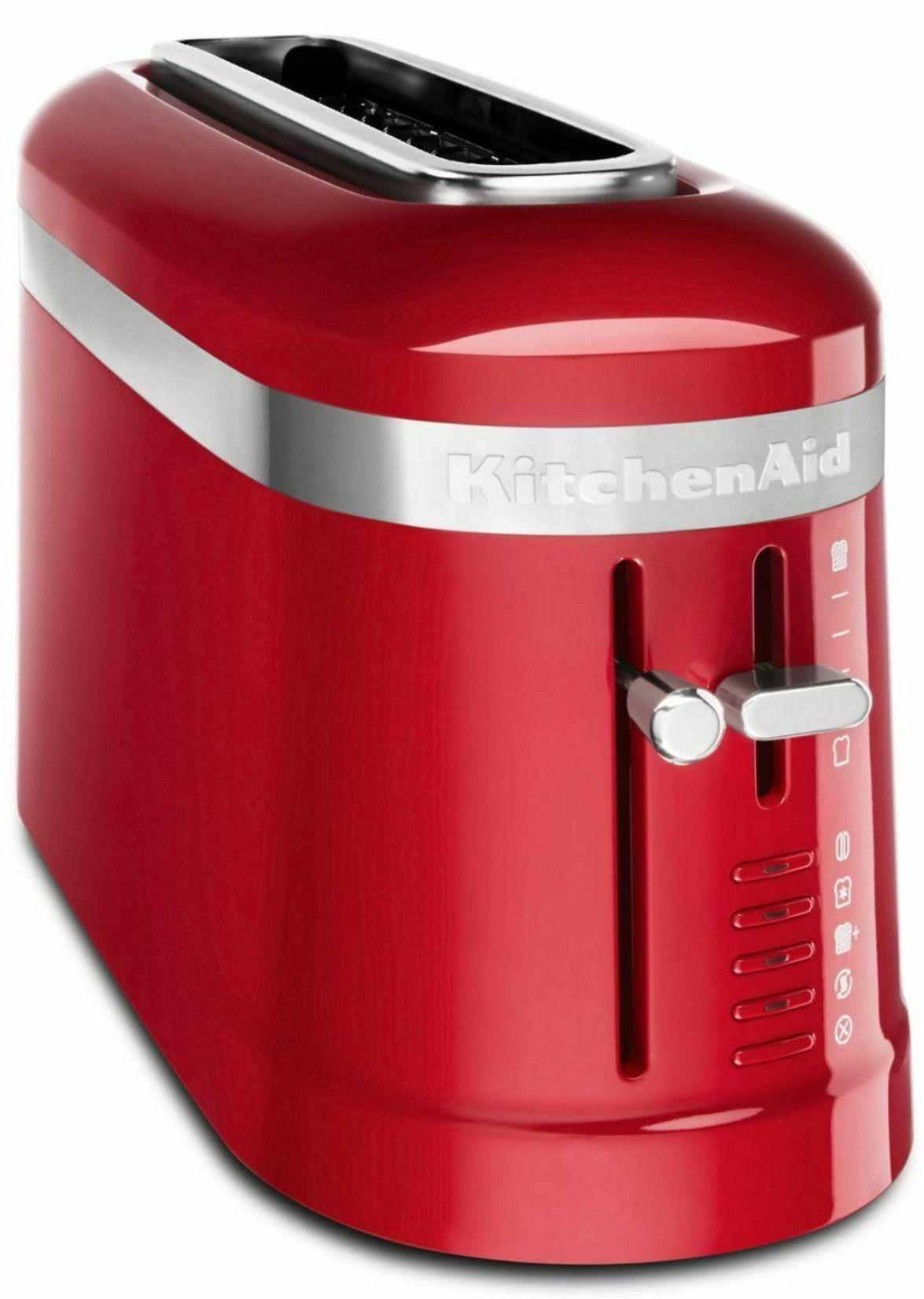 Kitchenaid 2 slice long slot toaster with highlift lever