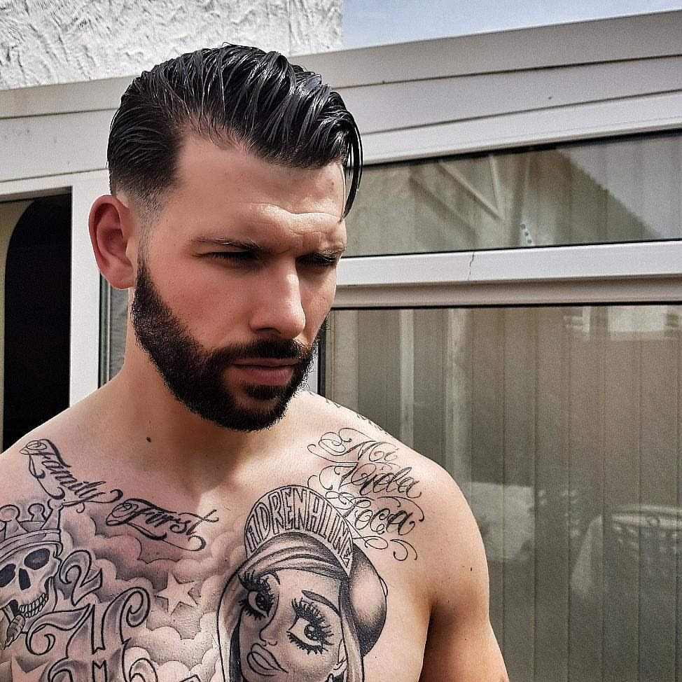 Pin by mare on Big Hair and beard styles, Jay hutton