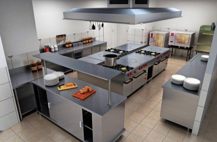 Cocina Industrial Diseno De Cocina De Restaurante Decoracion De