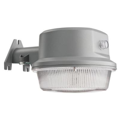 Lithonia Lighting Gray Outdoor Integrated Led 4000k Area Light With Dusk To Dawn Photocell Olal 40k 120 Pe The Home Depot Led Outdoor Wall Lights Outdoor Wall Lighting Lithonia Lighting