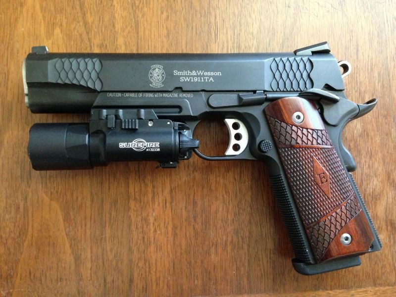 Smith And Wesson 1911 E Series