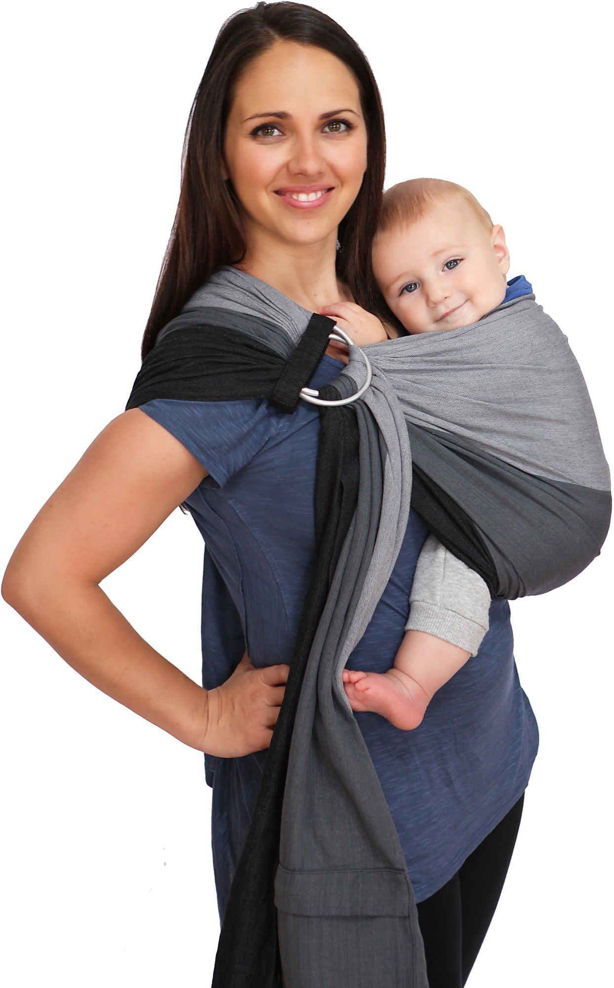 83d9b430d5b Maya Wrap ComfortFit Ring Sling   Baby Carrier - Asher - Medium. Asher is a