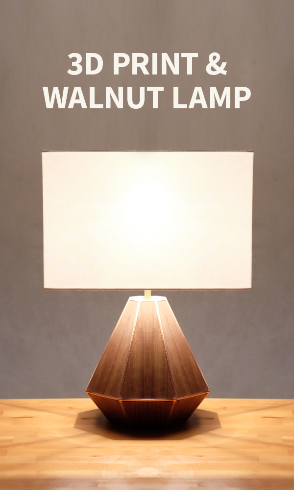 How To Make A 3D Printed Wooden Lamp From Evan And Katelyn