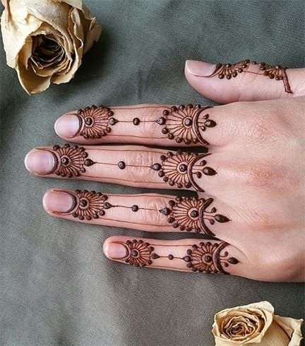 Mehndi Designs That Are Topping The Popularity Charts In 201819 is part of Mehndi designs for fingers, Henna patterns, Mehndi designs, Finger henna designs, Henna, Henna designs - Mehndi designs are an alltime favorite topic among ladies across all age groups  The range of mehendi designs is vast, extensive and can be customized as per the occasion  It is an integral part of weddings and other traditional celebrations like Teej and Diwali