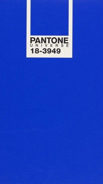 Bleu Royal 18 3949 Couleur De Lannée 2014 Pantone Blue En 2019