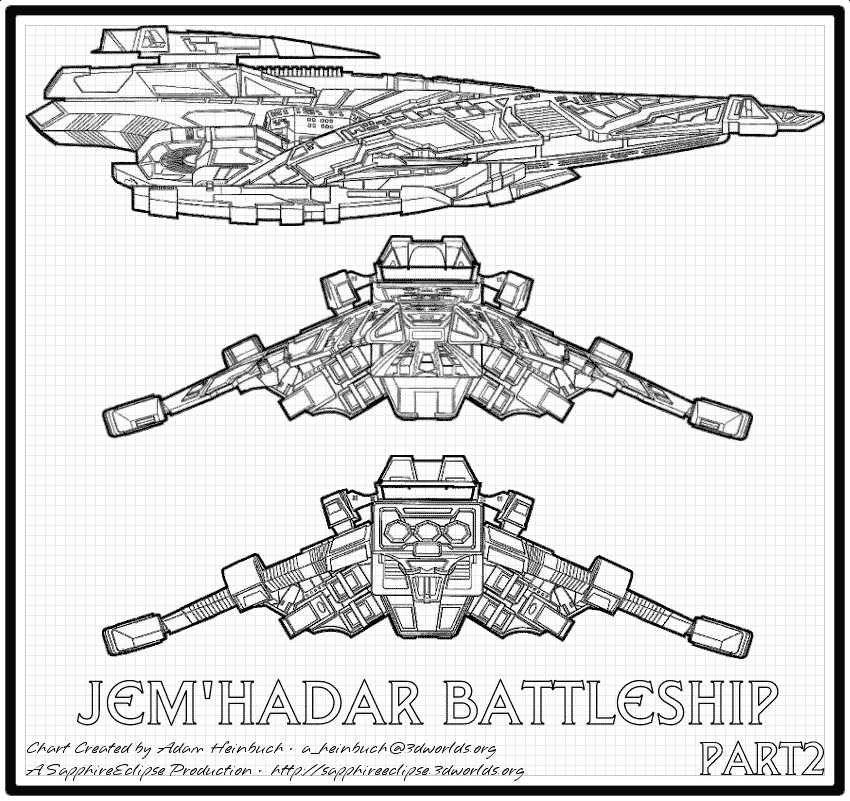 Jem'Hadar Battleship
