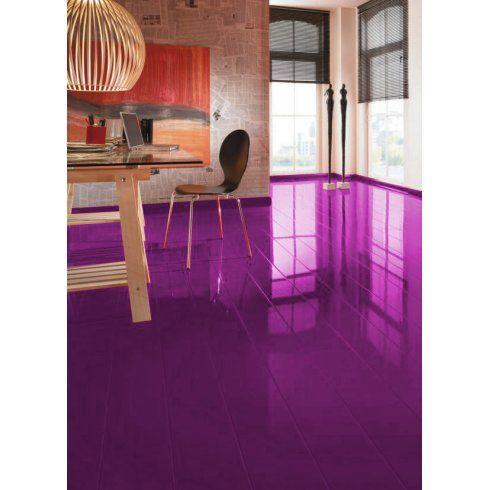 Supergloss Extra Sensitive 87mm Violet High Gloss Laminate Flooring