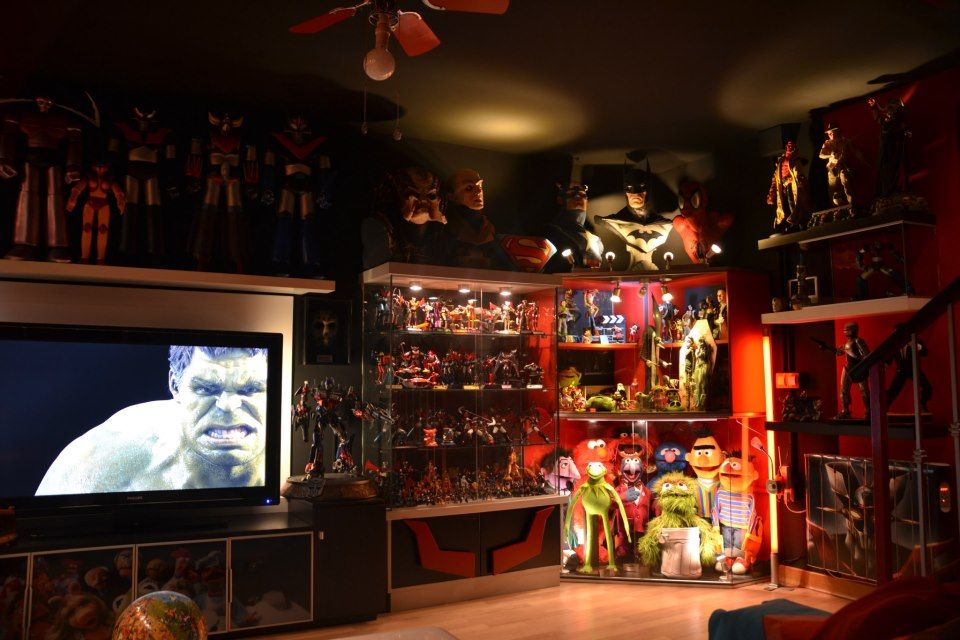 Ultimate Man Cave Decor : Ultimate geek man cave collection i need this room in my