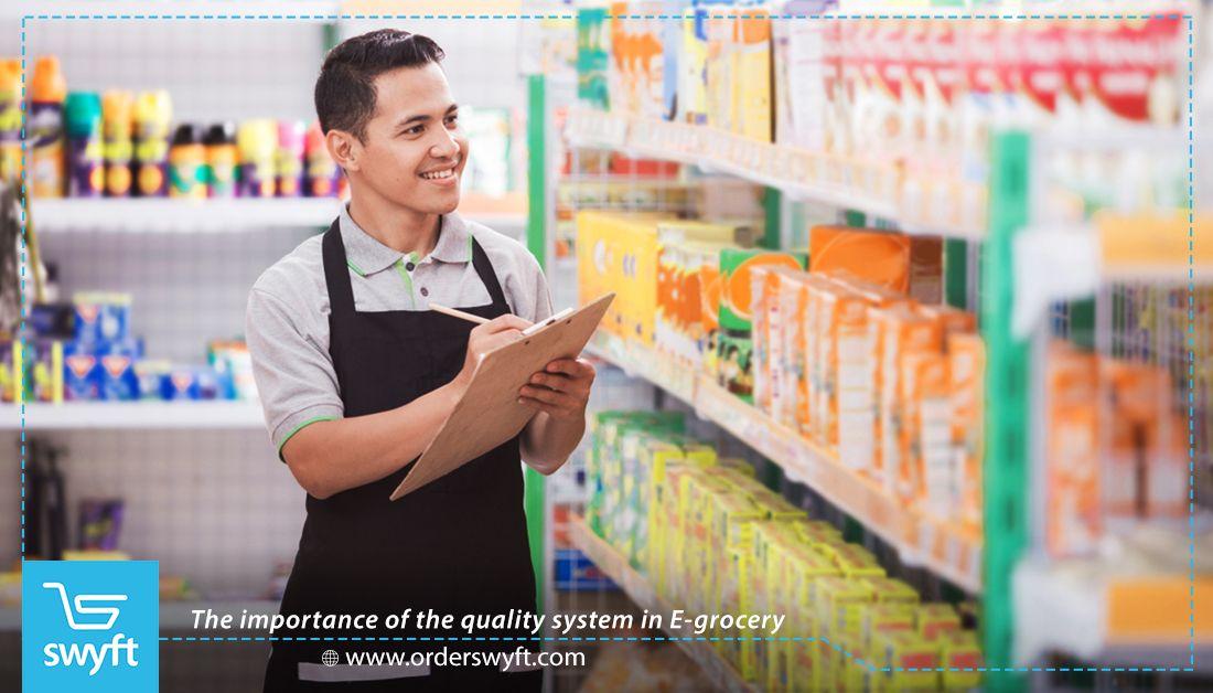 اهمية نظام الجودة في قطاع البقالة الإلكترونية Snack Delivery Grocery Delivery App