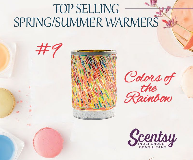 Colors Of The Rainbow Warmer Is On The List Of Top Selling Warmers