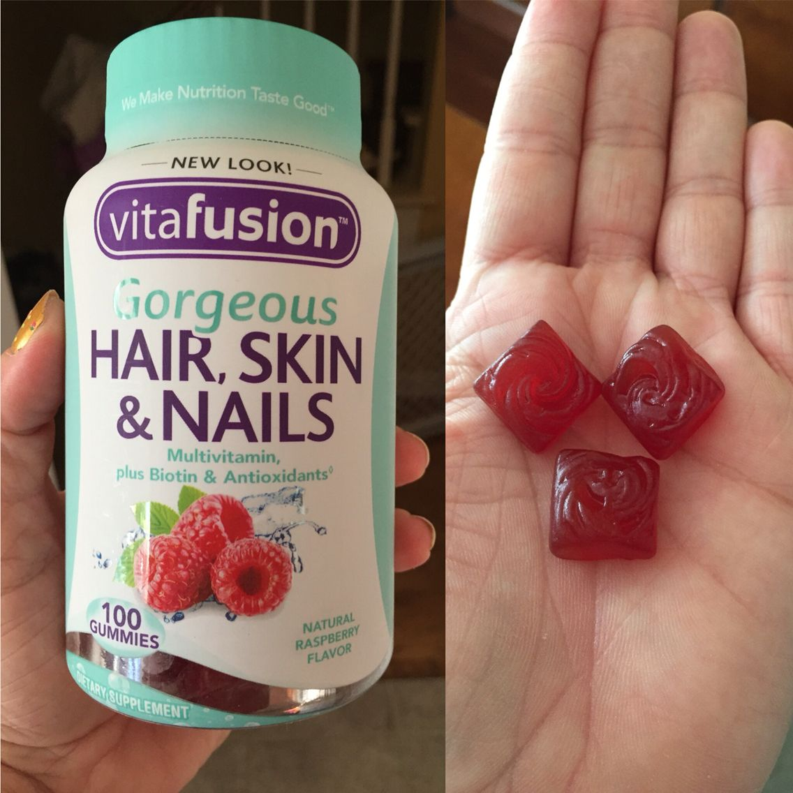 Love How Vitafusion Supports My Gorgeous Hair Skin And Nails From Within