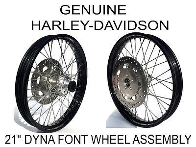 Genuine Harley Davidson 21 Quot Black Spoke Wheel Rim 25mm