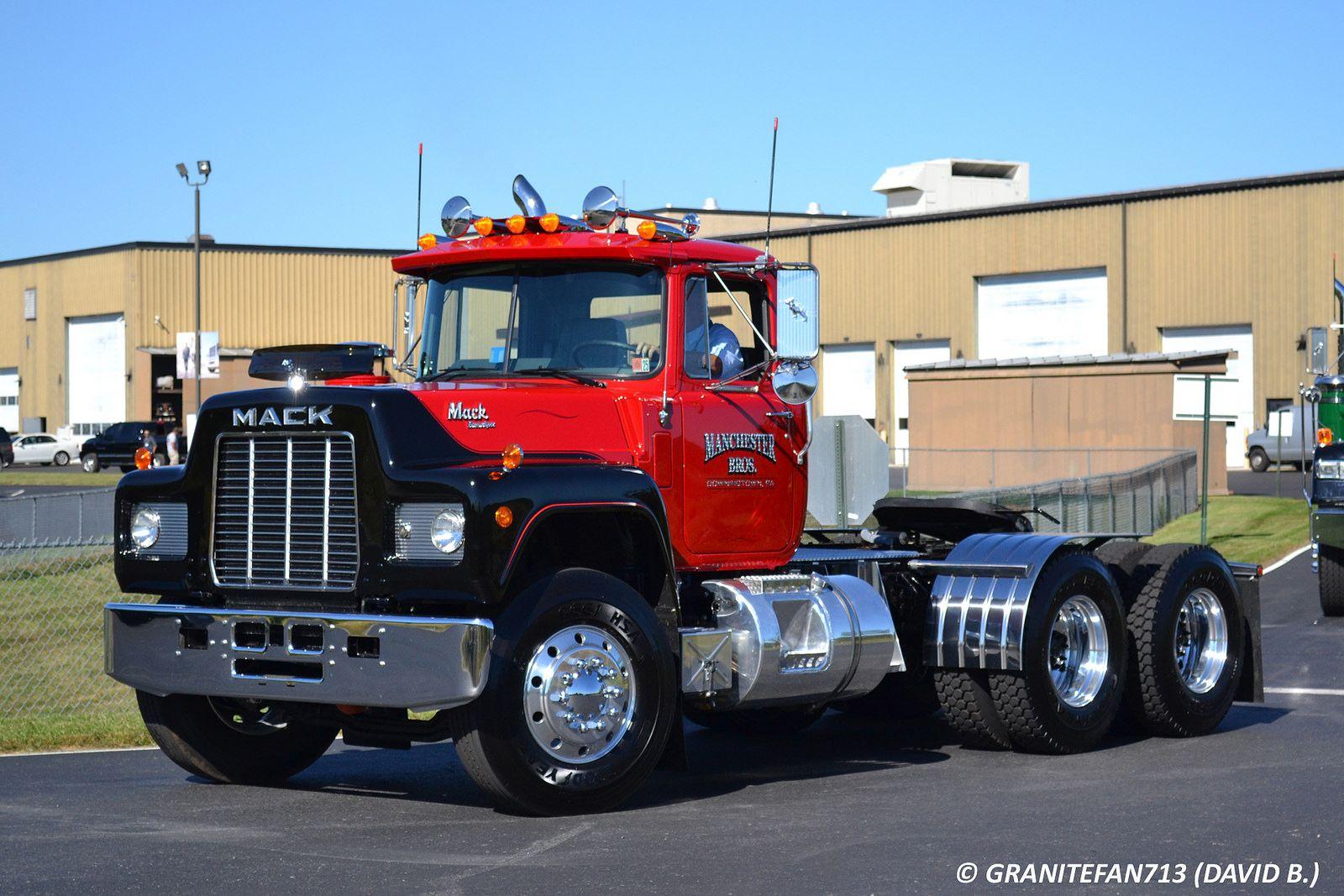 R Model Mack Show Truck : Trucking majestic mack trucks pinterest