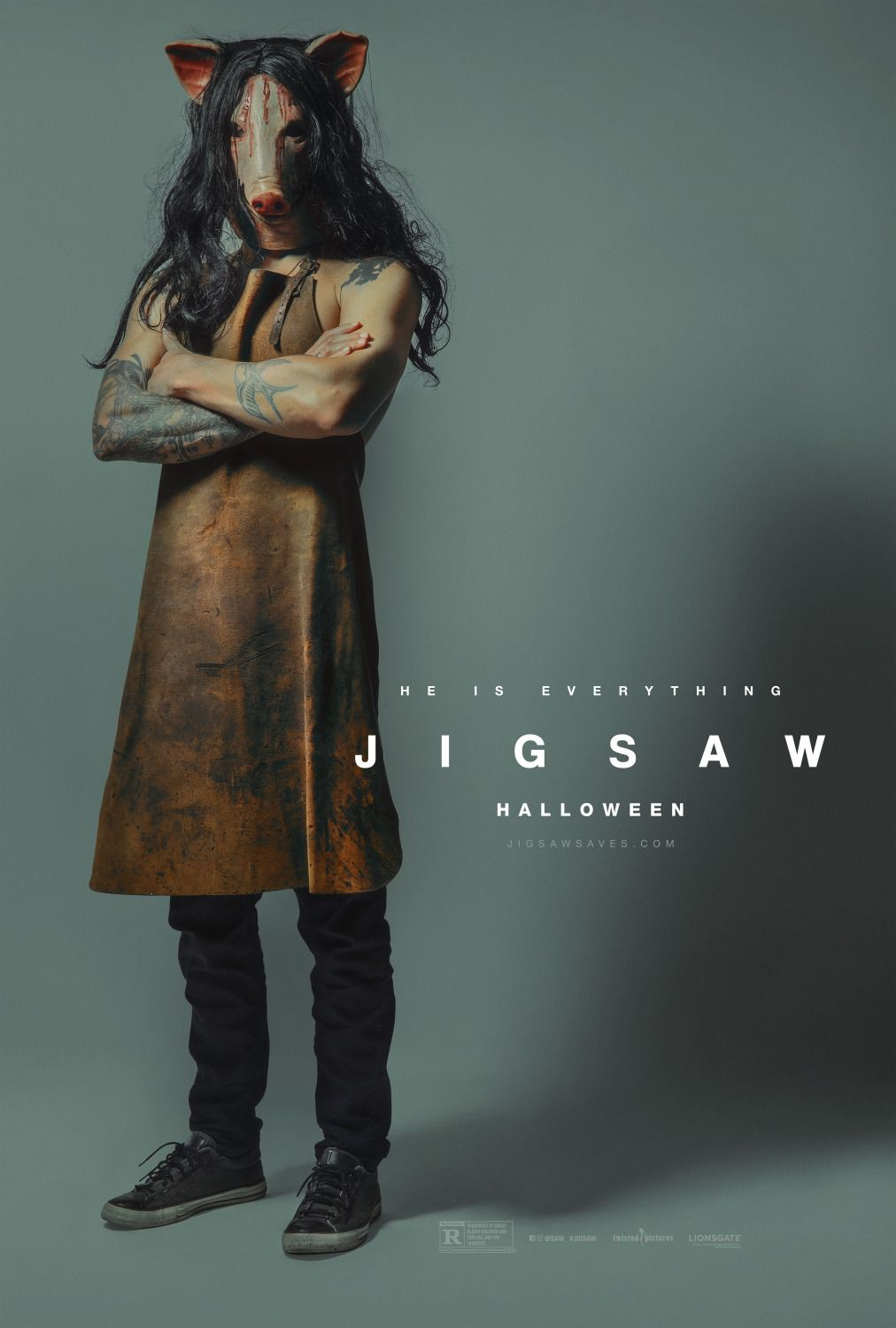 New Movie Posters for Jigsaw