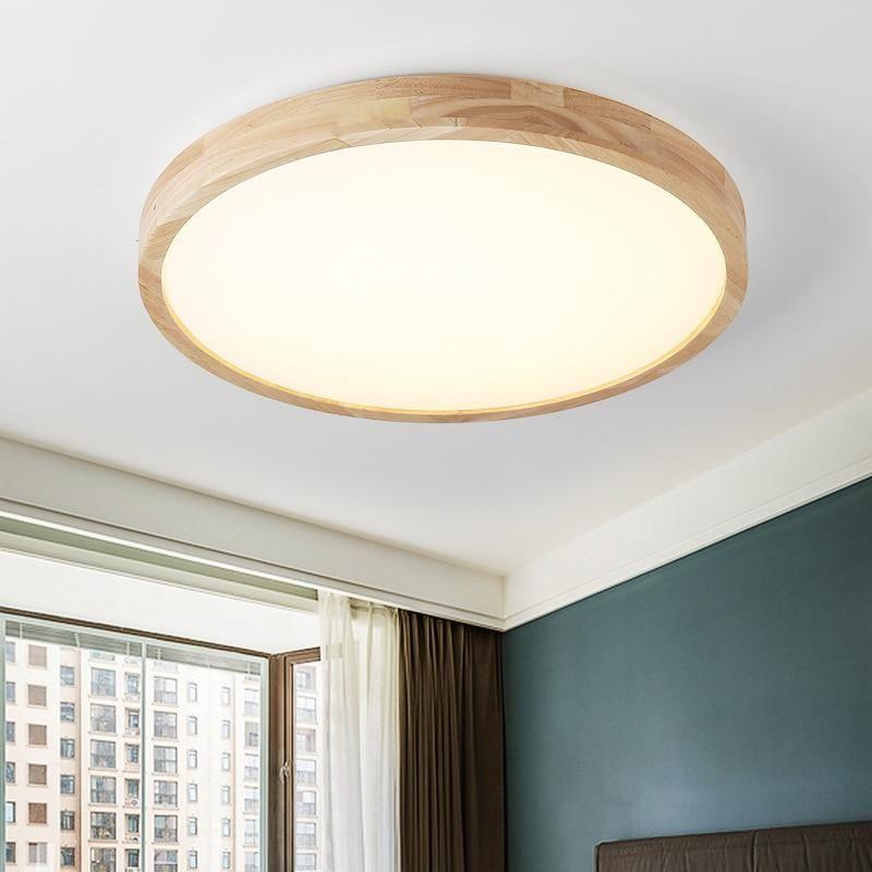 Led Ceiling Light Modern Lamp Panel Living Room Round Lighting