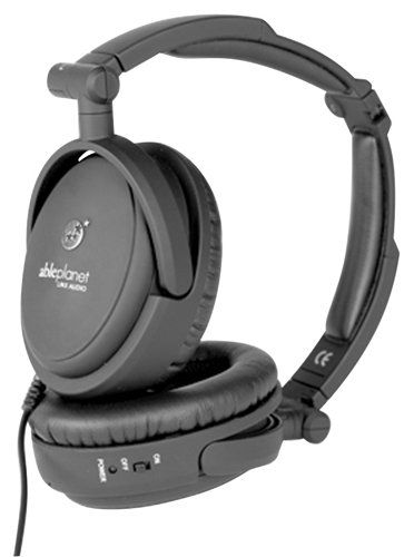 ABLE PLANET NC200B True Fidelity Foldable Active Noise Canceling Headphones (Black) (Discontinued by Manufacturer... $55.00 (save $44.99)