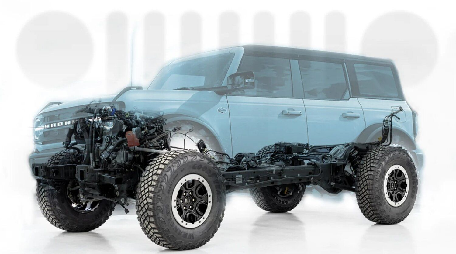 Extremely Detailed Look Into 2021 Ford Bronco S Engineering Designed To Take On Jeep Stangbangers In 2020 Ford Bronco Jeep Classic Ford Broncos