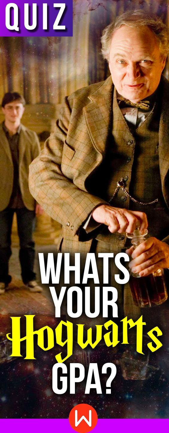 Harry Potter Quiz What Is Your Hogwarts GPA? (avec images