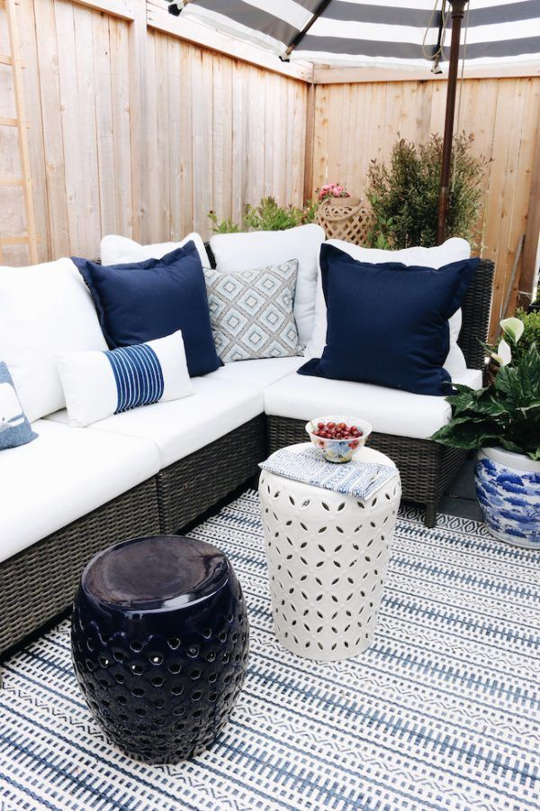 How to keep outdoor rug from blowing away: 5 top tips #outdoorrugs