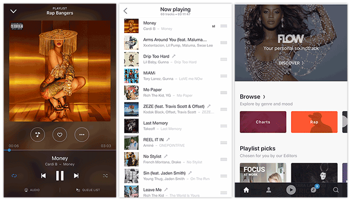Deezer++ is a tweaked version of Deezer app for iOS devices