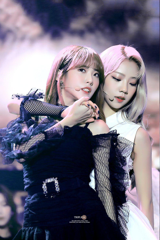 Luda Yeoreum Wjsn Cosmic Girls 루다 여름 우주소녀 Kpop Girls Cosmic Girls Wjsn Luda