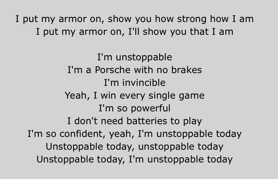 Unstoppable Sia Sia Lyrics Unstoppable Quotes Songs