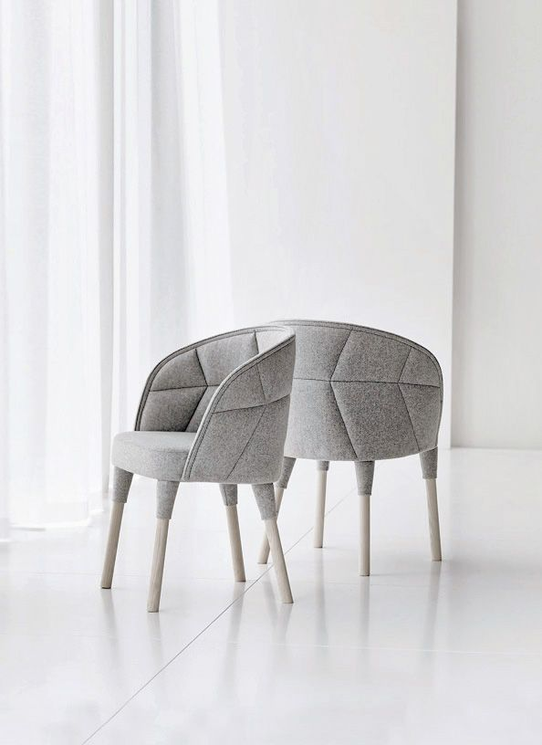 Neutral grey sofa chair furniture Pinterest Gray, Interiors - design schaukelstuhl beton paulsberg