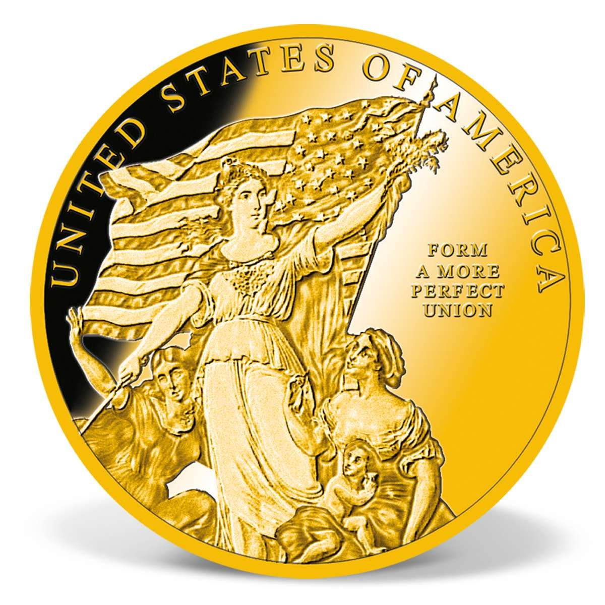 Form A More Perfect Union Commemorative Coin