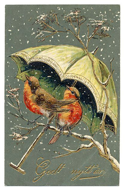 Image detail for -Bird Postcards : Eyedeal Postcards, Vintage Postcards and Figurines ...