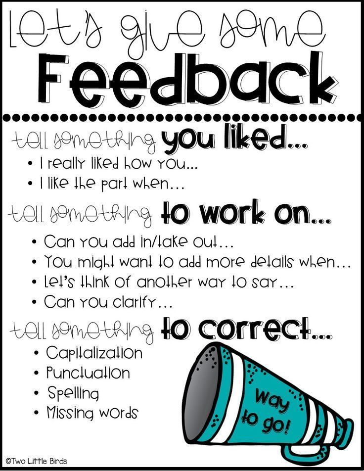 Provide constructive feedback to learners to
