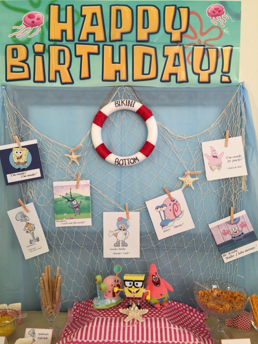 66 Diy Spongebob Birthday Invitations