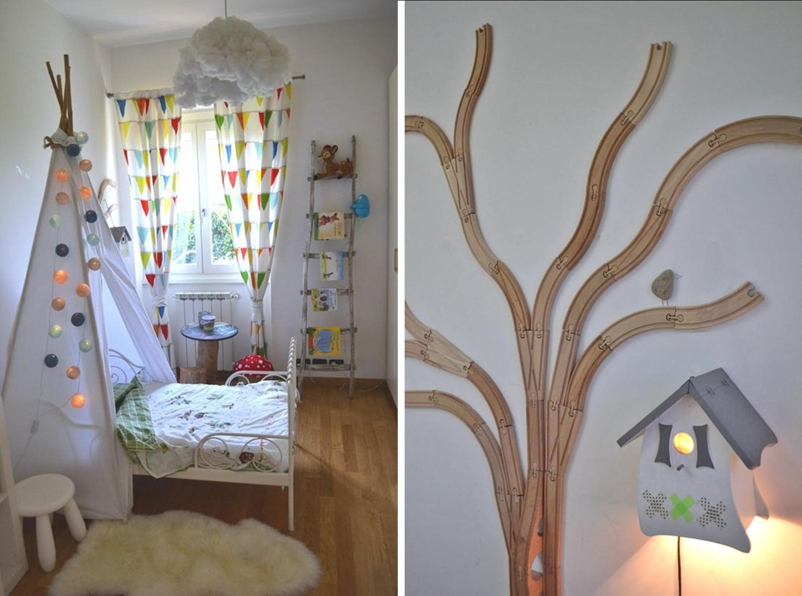 Decoracion facil reciclado creativo para una habitaci n for Decoracion hogares infantiles