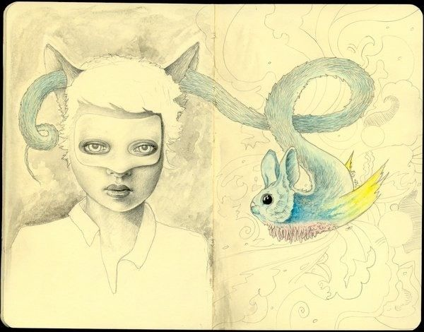 Awesome Drawings by Lady Orlando