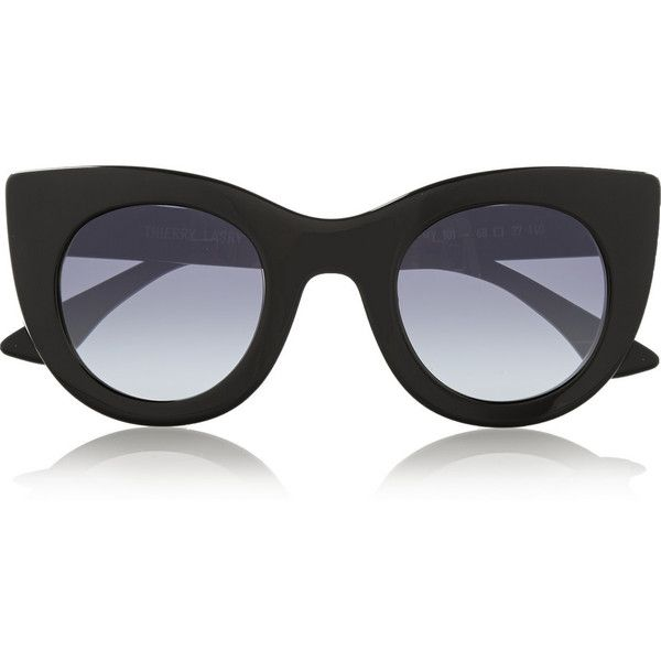 07a301db23c Thierry Lasry Oversized cat-eye acetate sunglasses ( 390) found on Polyvore  featuring accessories