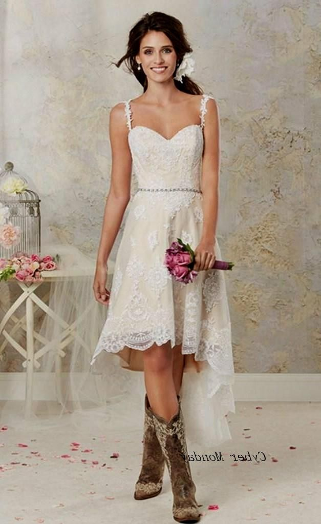 Stunning short country wedding dresses images styles ideas free shipping two styles lace country wedding dresses high low jpg junglespirit Choice Image