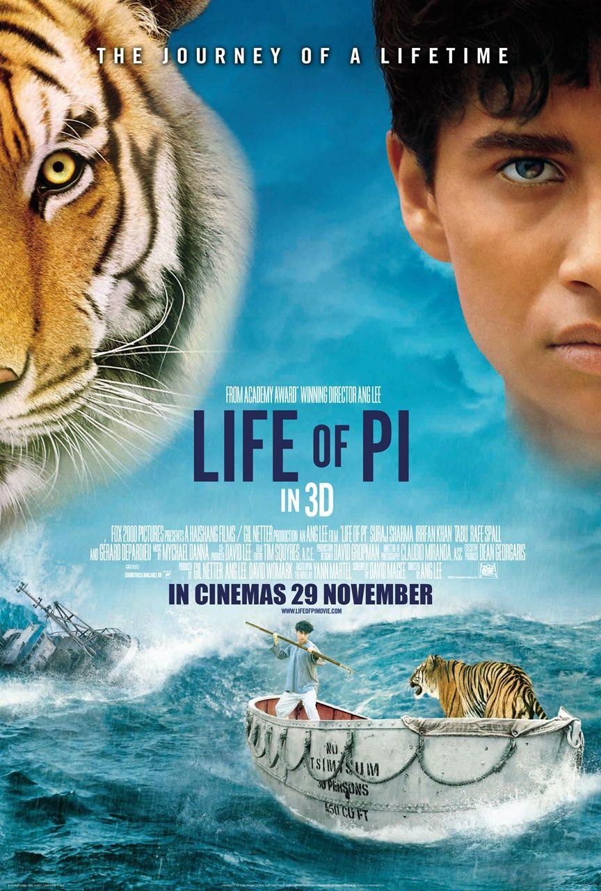 Life Of Pi 2012 As Aventuras De Pi Vida De Pi Filmes Completos