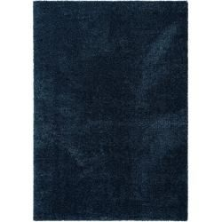Photo of benuta Hochflor Shaggyteppich Wisby Blau 140×200 cm – Langflor Teppich für Wohnzimmer benuta