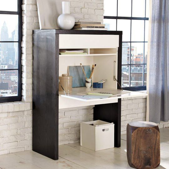 Home office solutions Diy Roundup Ten Best Hidden Office Solutions Apartment Therapy Pinterest Roundup Ten Best Hidden Office Solutions Office Desk Home