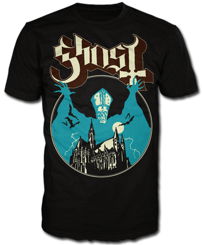 Opus Eponymous Tee In 2021 Ghost Bc Band Ghost Ghost