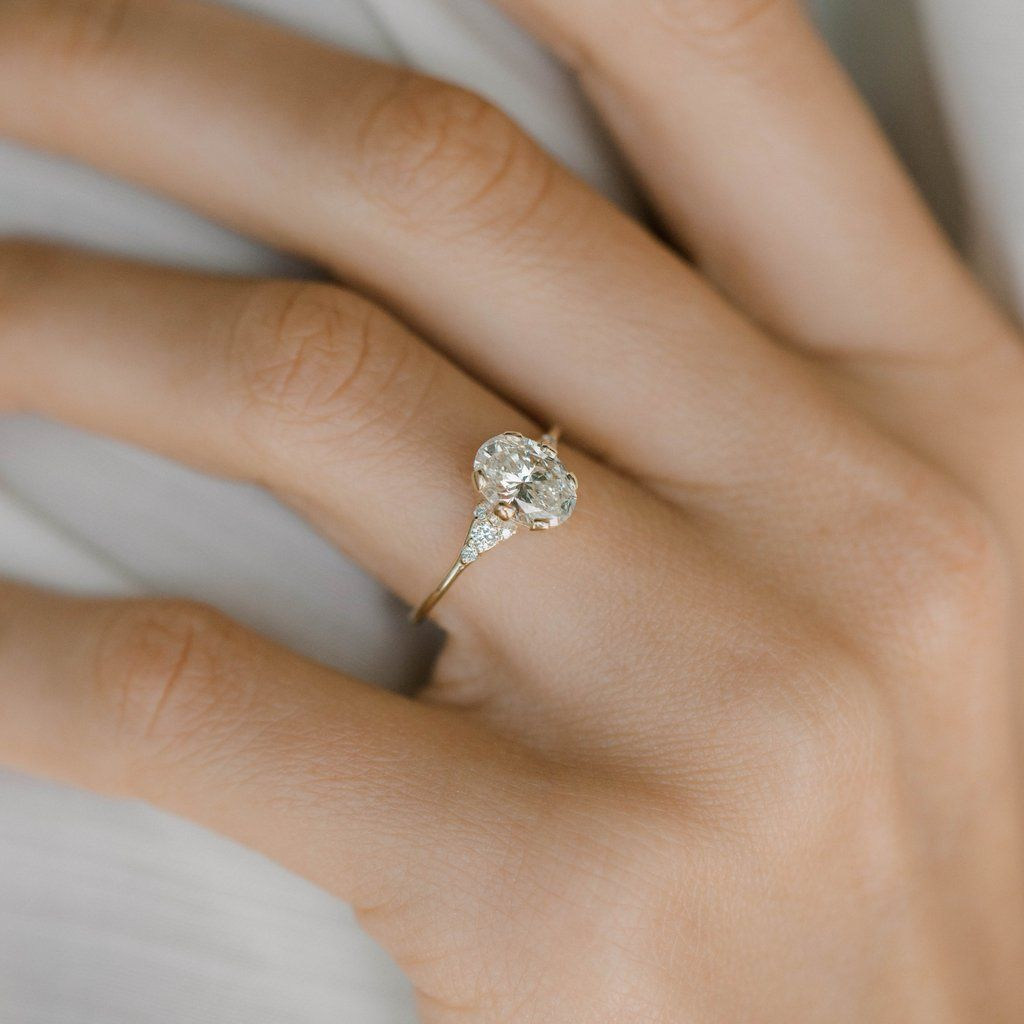 Oval Lady S Slipper Ring 1 2ct Rings Wedding Engagement Rings